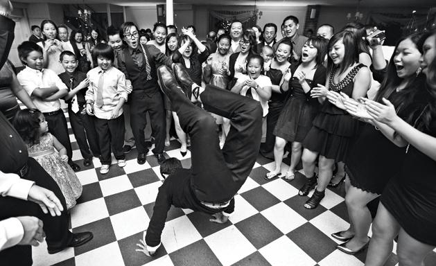 Развлечение гостей на свадебном банкете
