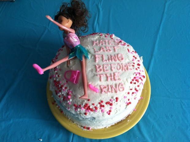 Торт для девичника