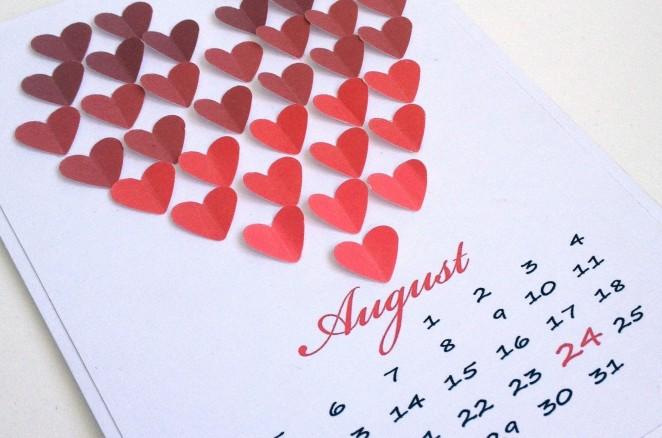 Календарь невесты