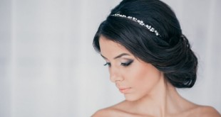 Невеста с греческой прической