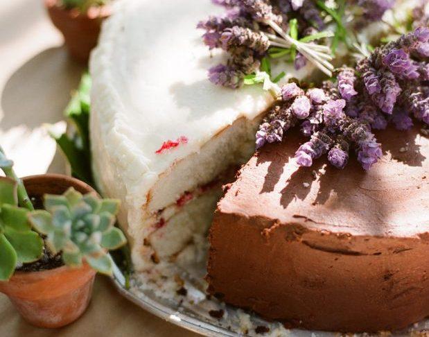 Домашний свадебный торт