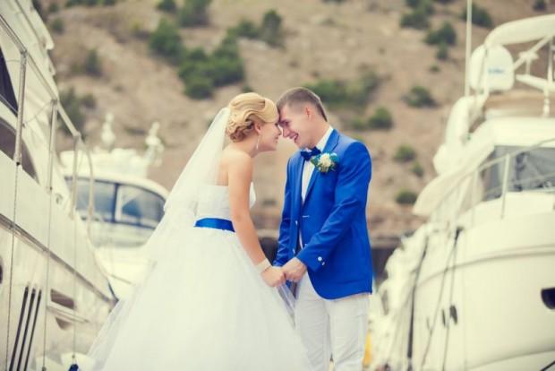 Морской стиль свадьбы