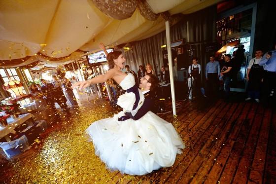 Веселые свадебные танцы