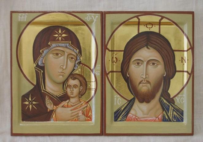 Иконы в день венчания