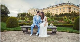 Жених и невеста в Австрии