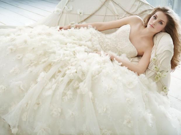свадебное кружевное платье для невесты