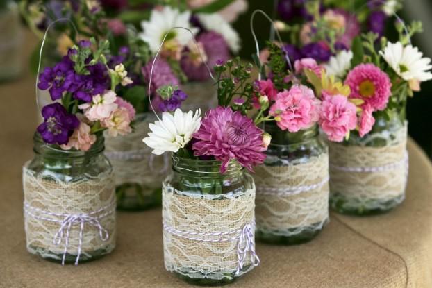 украшение на свадьбу своими руками