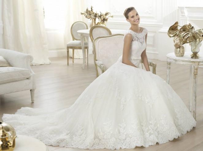 Платье невесты от Веры Вонг