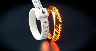 Выбор размера кольца на свадьбу