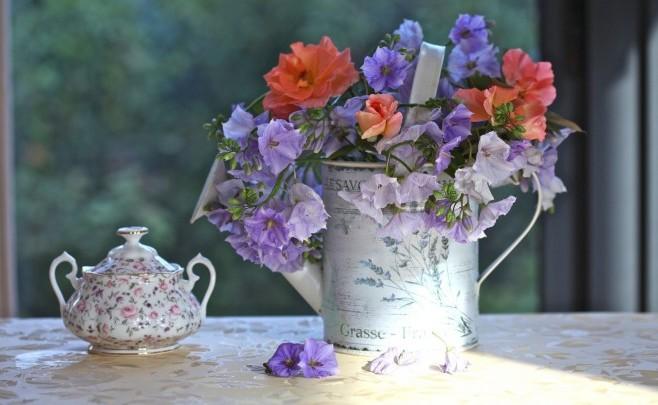 Цветы для никелевой свадьбы