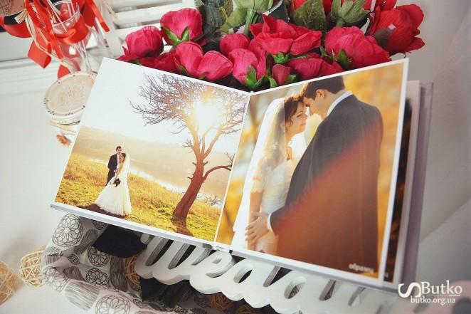Фотокнига свадебного дня