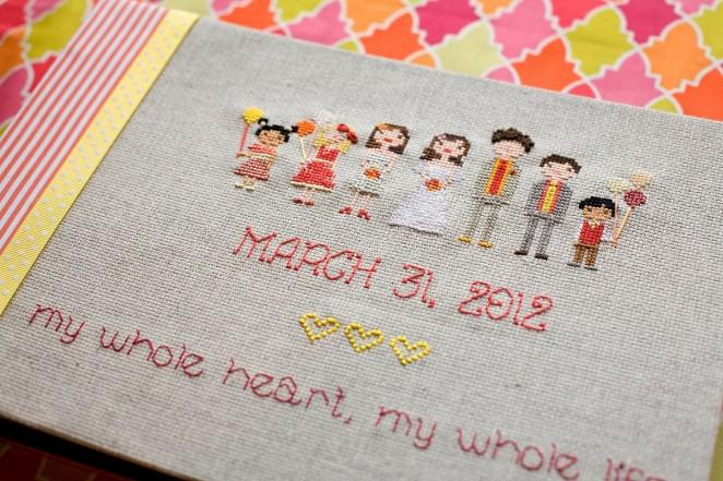 Свадебный фотоальбом сделанный своими руками