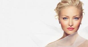 Стильный свадебный мейкап для блондинки