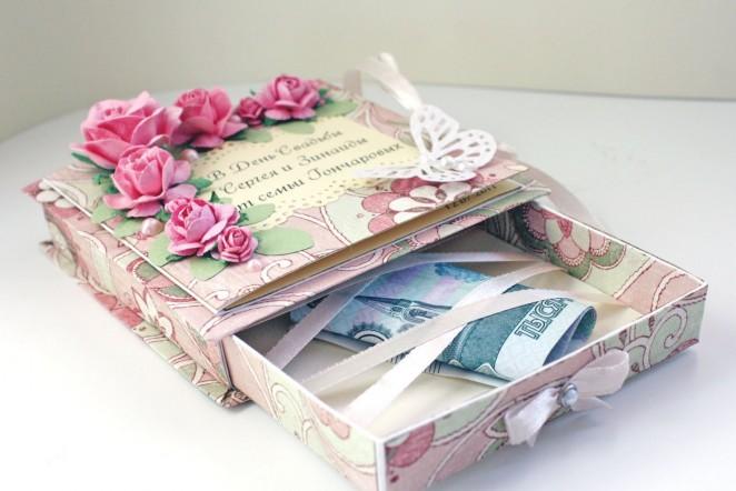 Креативный подарок на свадьбу молодоженам своими руками