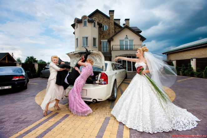 Какие существуют приметы о свадьбе