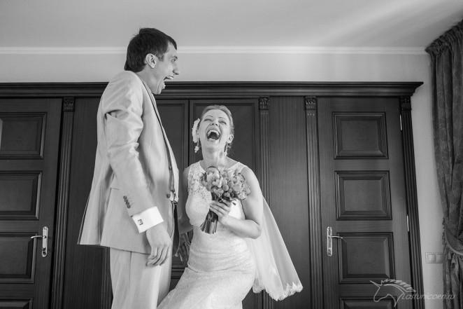 Жених и невеста и их утро