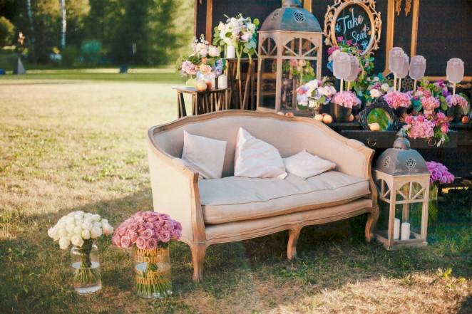 Фотозона для свадьбы