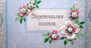 Сберкнижка для жениха и невесты
