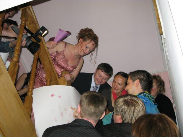 Выкуп невесты в частном доме