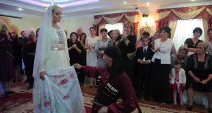 Красивая карачаевская невеста