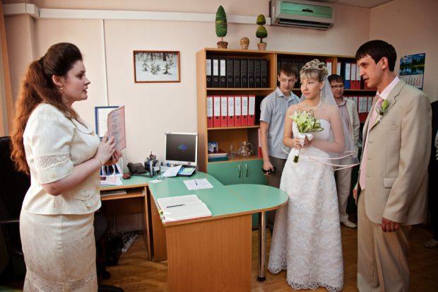Поздравление работником ЗАГСа с вступлением в законный брак