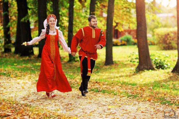 Традиции свадьбы в октябре