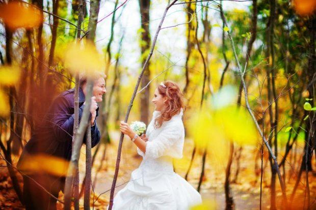 Свадебная фотосессия в октяюре