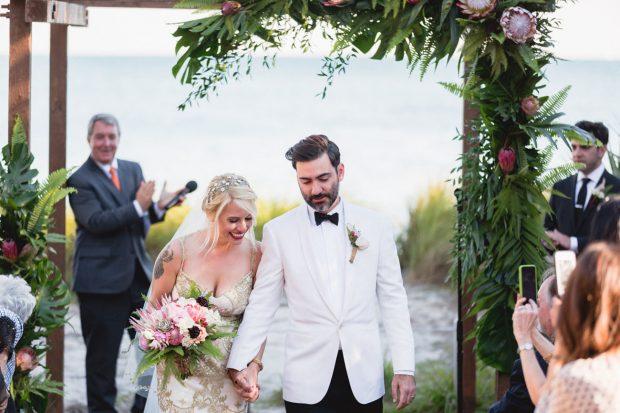 Необычные жених и невеста