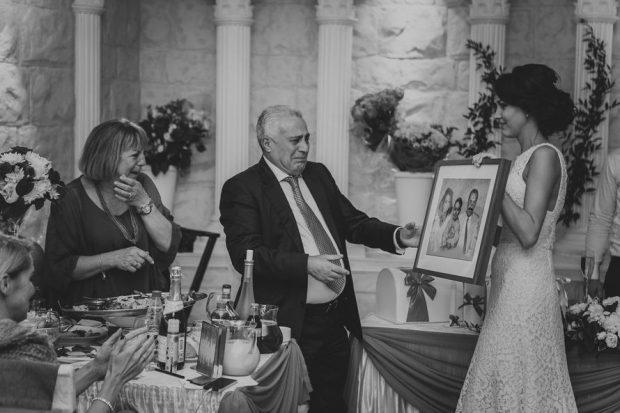 Рисунок в подарок на свадьбу от молодожен родителям