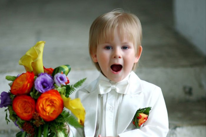 Поздравление на свадьбу от детей