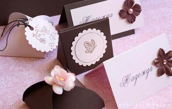 Шоколадный и розовый цвет свадьбы